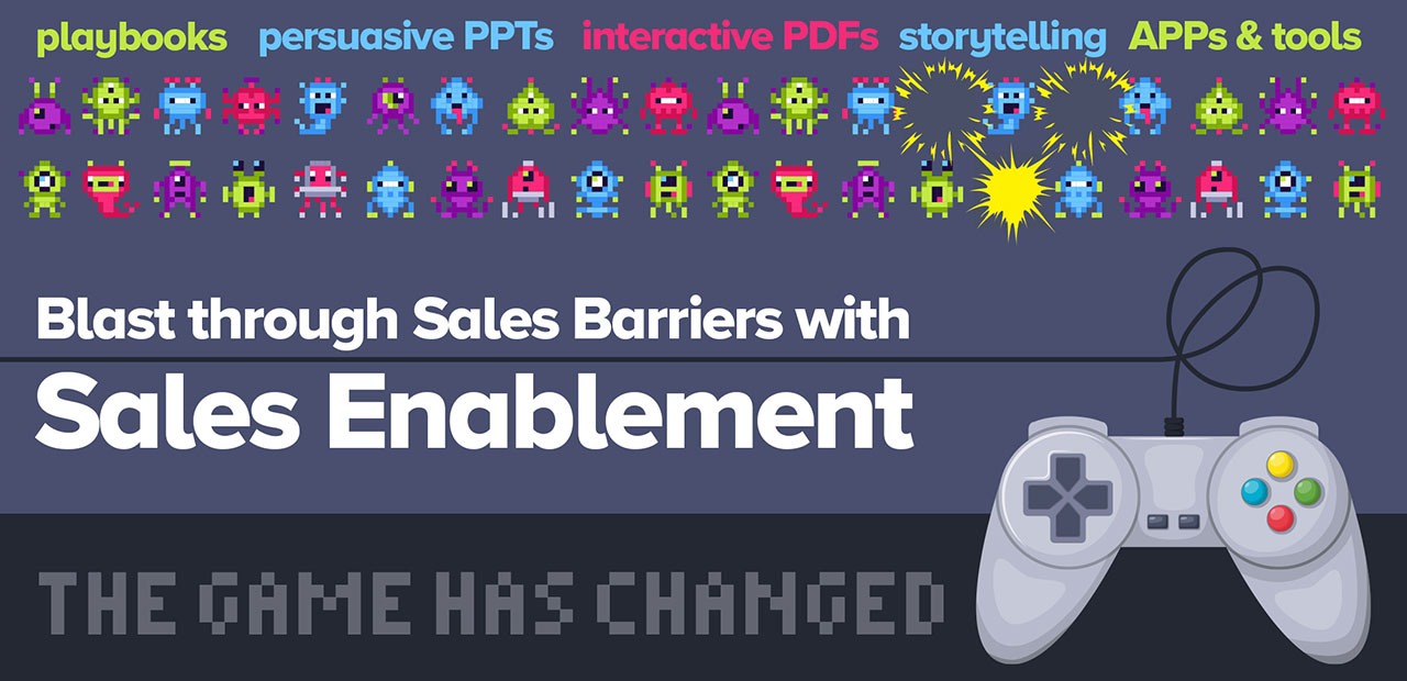 Blast through Sales Barriers with Sales Enablement